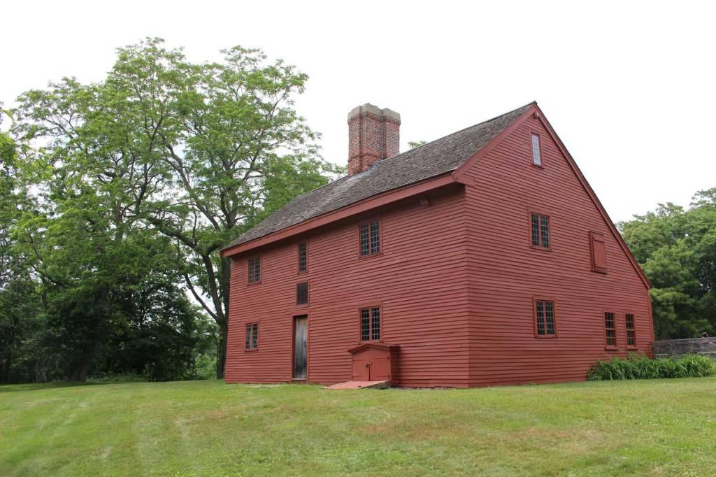 Rebecca Nurse Homestead, 149 Pine St, 1678.