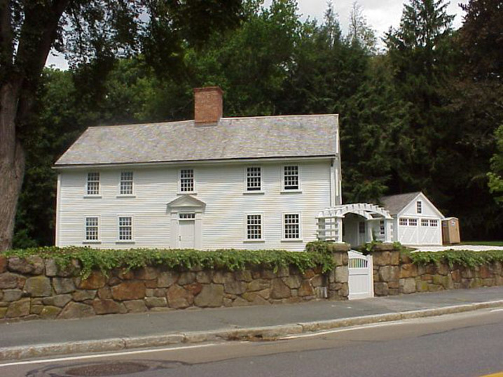 William Haskell House, 680 Hale St. Beverly MA c 1688