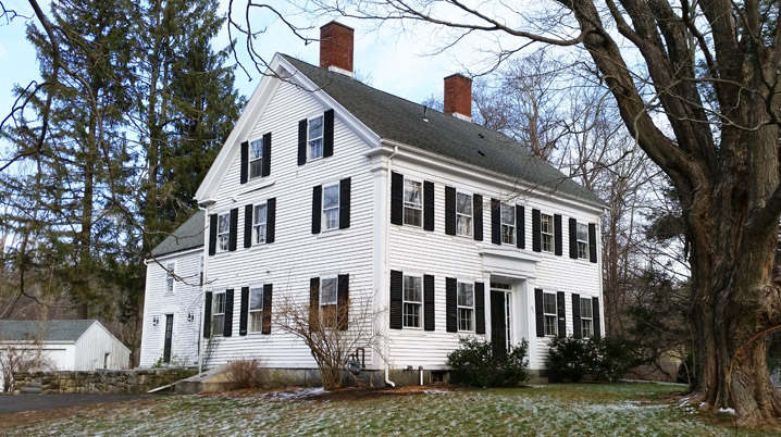 The John Curtis House at 211 Larch Row in Wenham
