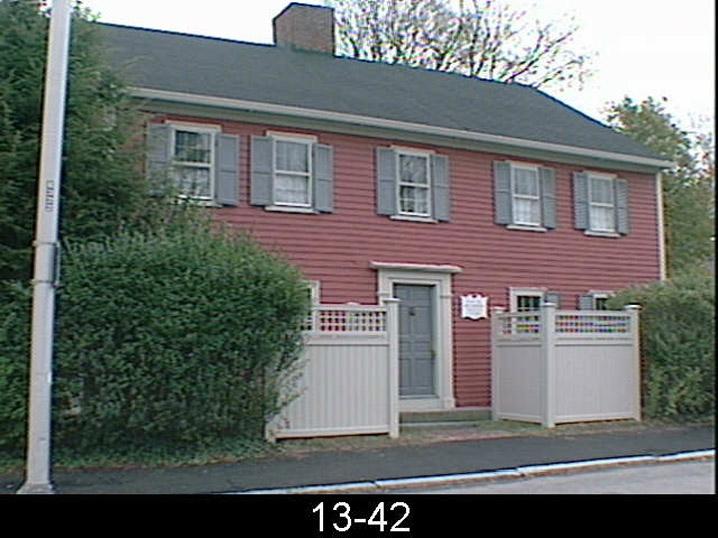 William Dodge House, 10-12 Lyman St. Beverly MA 1723