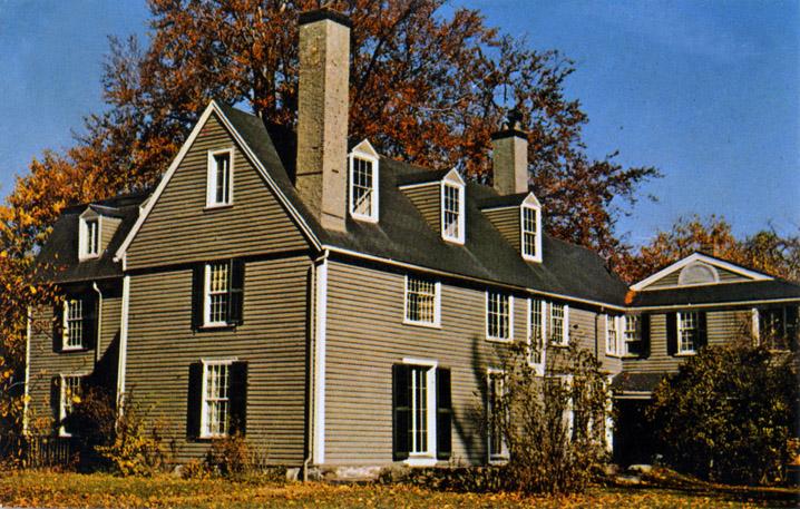 Hale, Rev. John House, 39 Hale St, 1694, Beverly MA