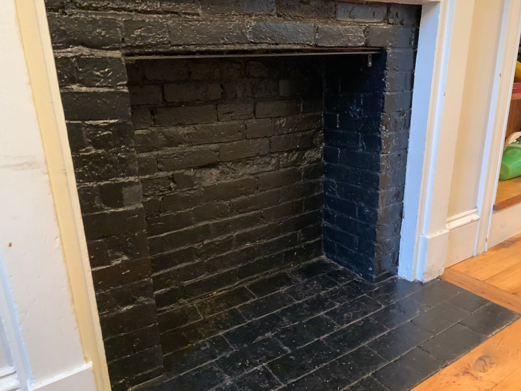 Rumford fireplaces were in use from 1796, when Count Rumford first wrote about them, until about 1850