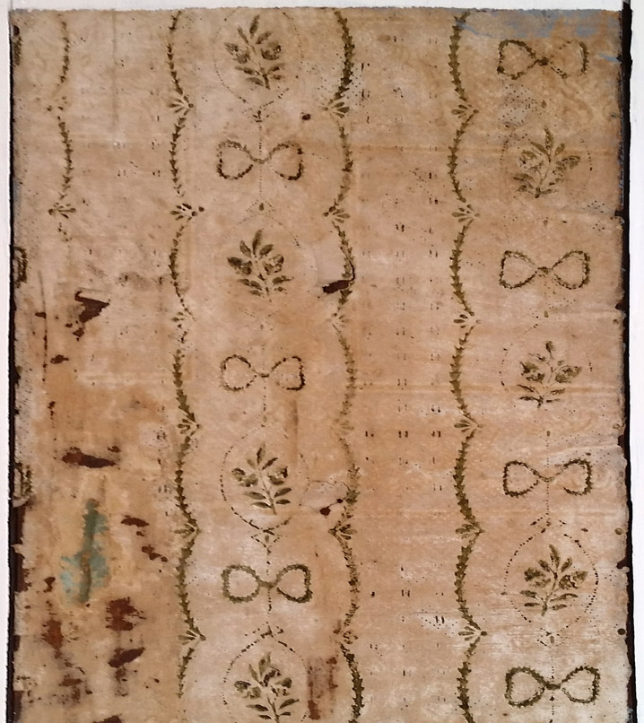 Early colonial wallpaper