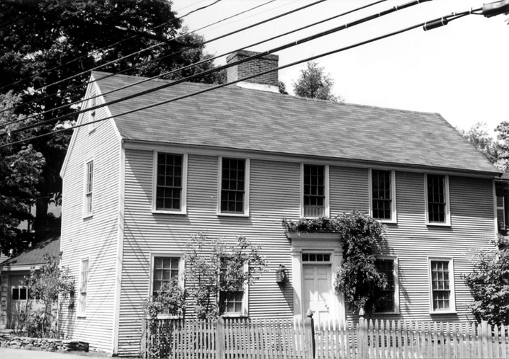 GEO.17 Adams - Clarke House 93 West Main St c 1725