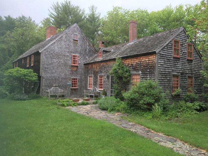 Dickinson - Pillsbury - Witham House 170 Jewett St c 1700