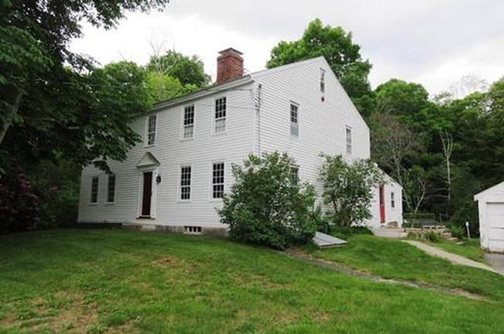 EO.304 Merrill, Thomas Jr. - Palmer, John Jr. House 6 Tenney St c 1762