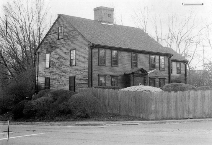 Ayer, Dea. Moses House 1 Saltonstall Sq.  Haverhill MA r 1770