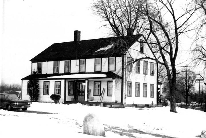 Chase, Jacob House 220 Amesbury Line Rd. Haverhill MA c 1744