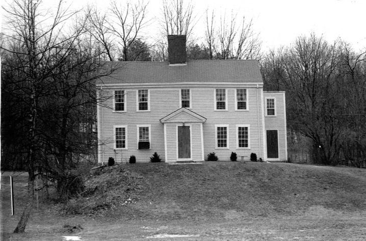 Challie, Gideon House 35 River  Rd. Haverhill MA c 1741
