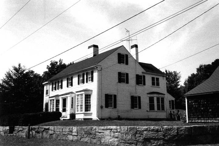 Newbury MA historic house