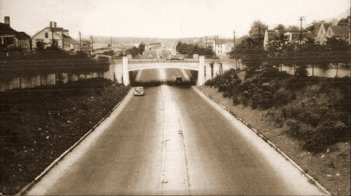 Newburyport turnpike, 1940