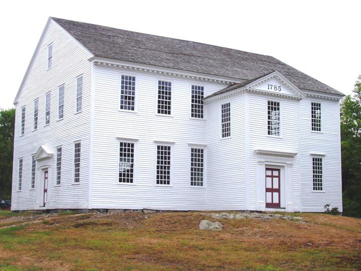 Rocky Hill Meeting House, Amesbury MA. Rocky Hill Meeting House at 255 Elm St. in Amesbury