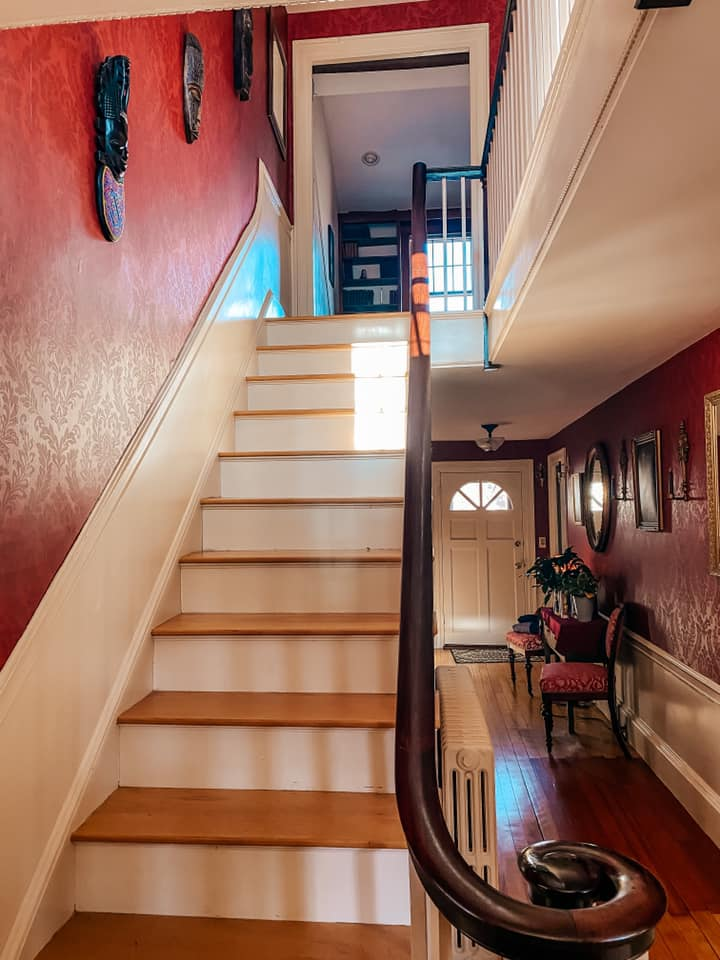 Stairs in the Mighill-Perley house