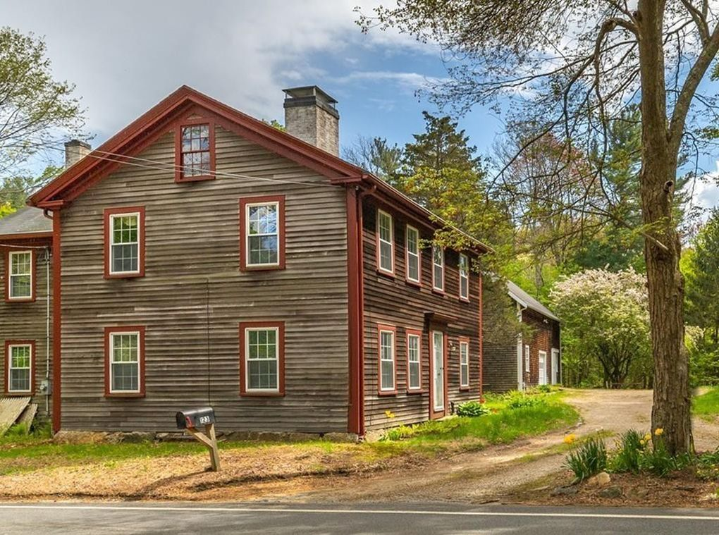 123 Cherry St., Wenham MA, the James Moulton house