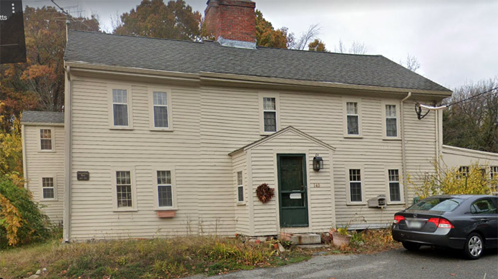 Carlton - Frie - Tucker House 140 Mill Rd North Andover c. 1709