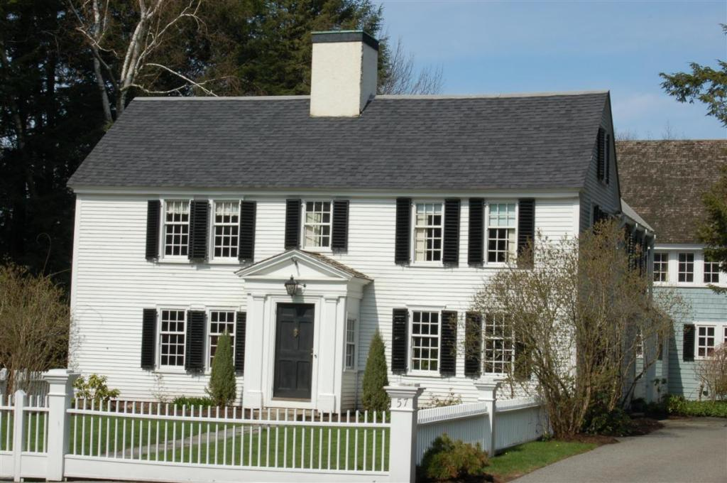 Abbot, John Lovejoy House 57 Central St., Andover MA (c 1700).