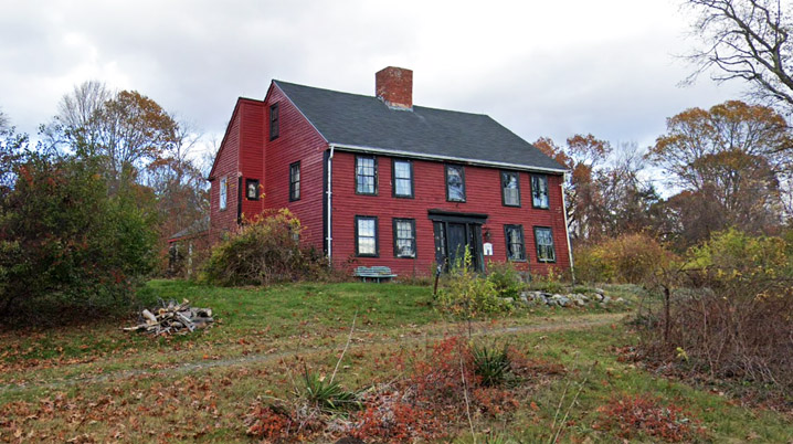 Although the house at 735 Lowell St. in Peabody has traditionally been said to be the 1660 residence of John Upton, architectural features suggest it was constructed not long before the house was used as an inn from 1774 to 1835.