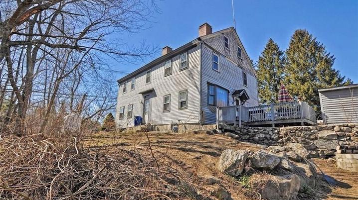 Sawyer, Caleb House 74 Dracut St Methuen c 1775