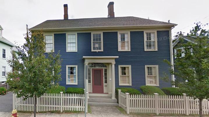 Osborn, George F. House 8 Park St  Peabody, MA c 1780