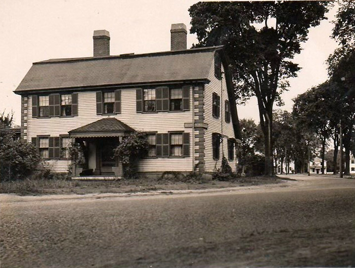 Mighill-Perley house, this photo was taken before 1906.