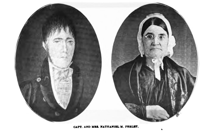 Captain and Mrs. Nathaniel M. Perley