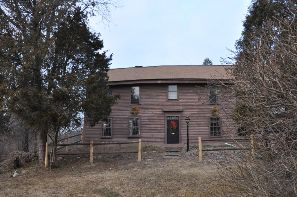 The Samuel Frie House in North Andover was constructed between1711, when a previous house on the site burned down, and 1719, when Frye gave the property, with house, to his son, and is on the National Register of Historic Places.