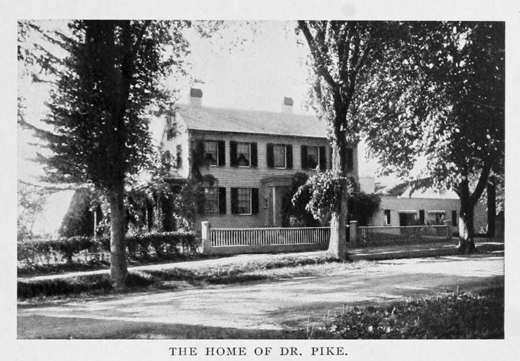 The Rev. John Pike house, 202 Main St., Rowley MA