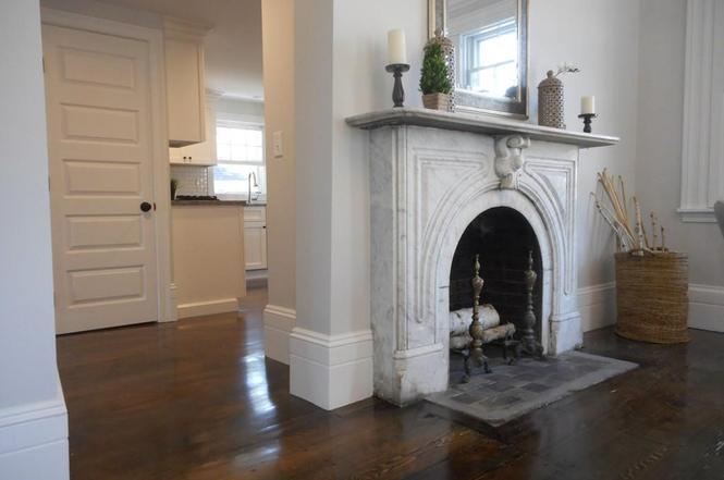 Fireplace at 202 Main St. in Rowley