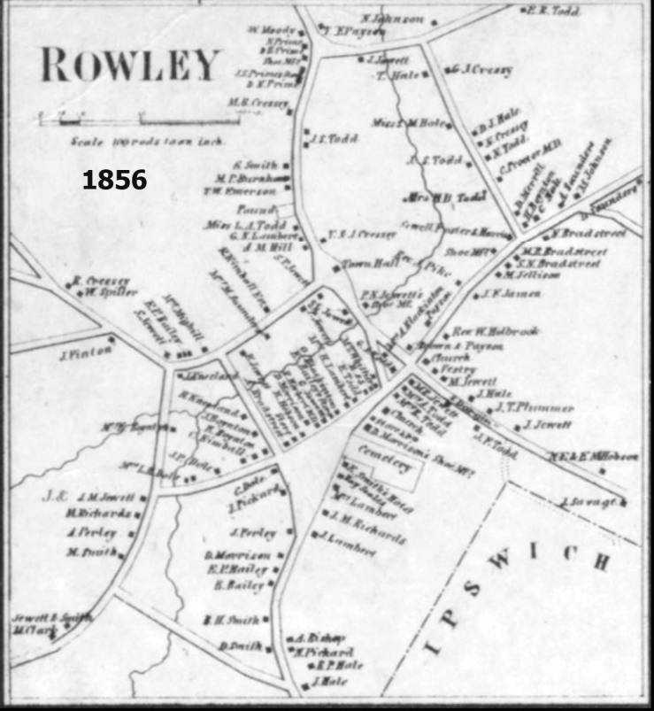 1856 Rowley map