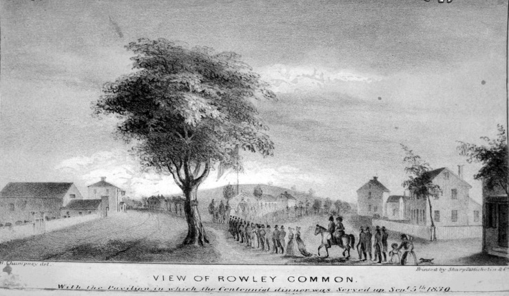 View of Rowley Common, 1839