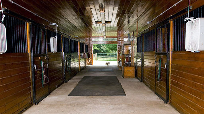Inside barn at 204 Dodge Rd. in Rowley