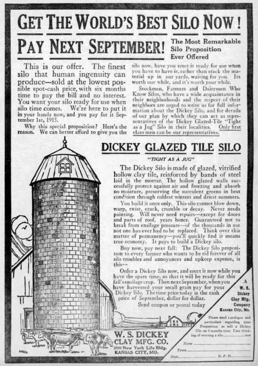W. S. Dickey silo company