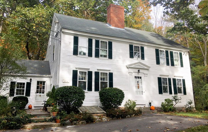 302 Central St., Georgetown MA, the Captain Benjamin Adams house