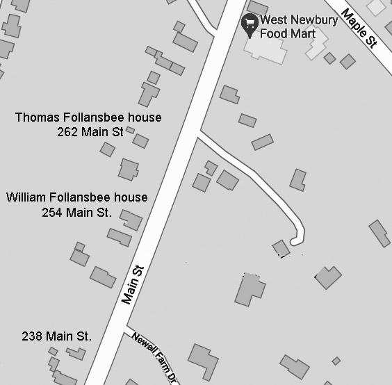 254 Main St., W. Newbury map today