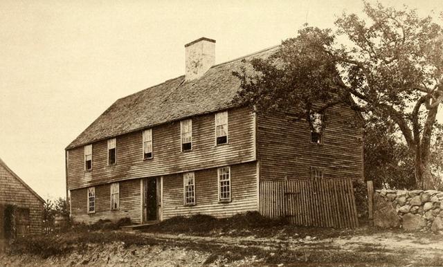 41 Turkey Shore Road, the Howard – Arthur Wesley Dow House (c.1680-1709)