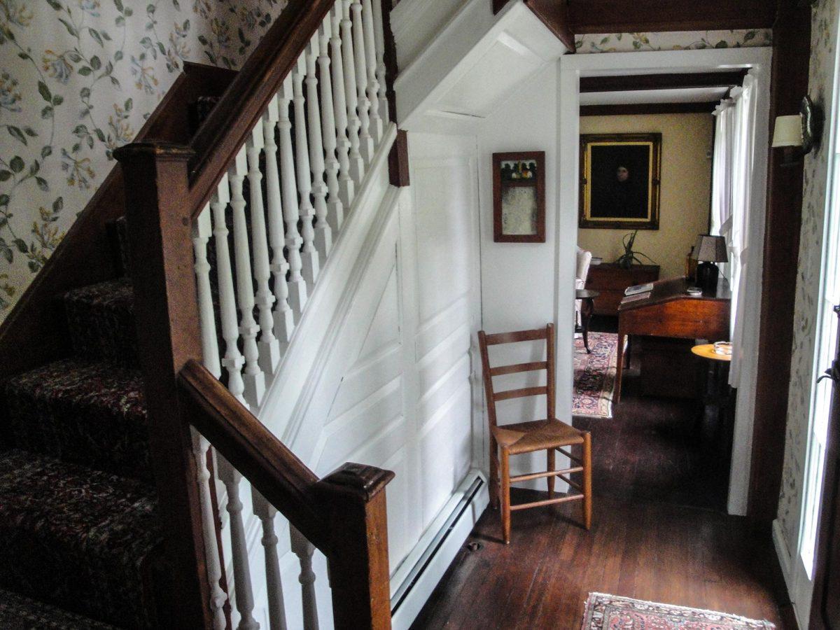 Staircase at 153 Perkins Row