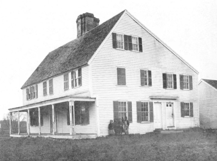 Ironworks house in 1915