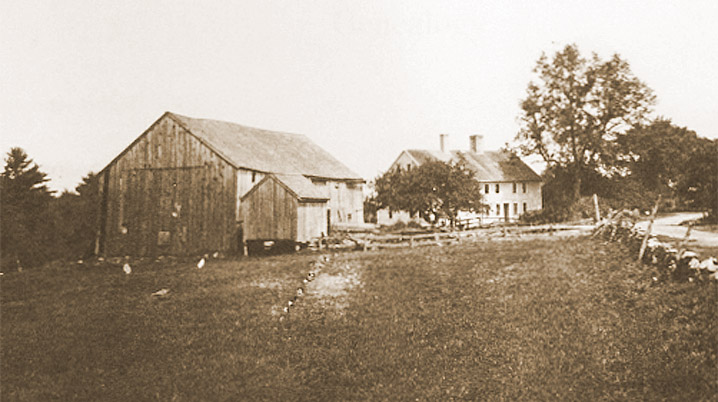 Joseph Gould house Topsfield about 1900